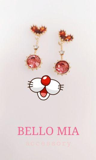 BELLO MIA 貝洛米亞飾品 正韓耳環