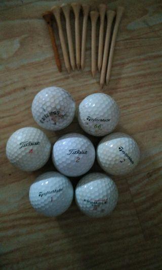 Bola golf dan tee ORI