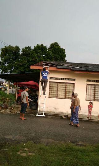 Tukang baiki atap bocor dan bumbung.banting☎01161705837
