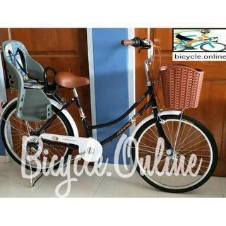 Unisex City Bikes *Shimano 6Speeds *Brand New Bicycles (add $49 to install rear child seat)