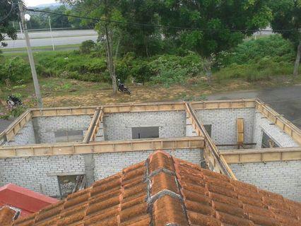 Kontrektor bina dan ubah suai rumah.bukit mahkota banting☎01161705837