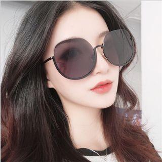 韓版太陽眼鏡黑粉茶色