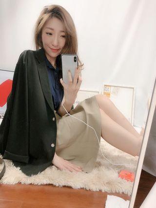 🌸春款上新🌸正韓 ✨質感敲級好✨的庸懶風中版西裝外套 預購