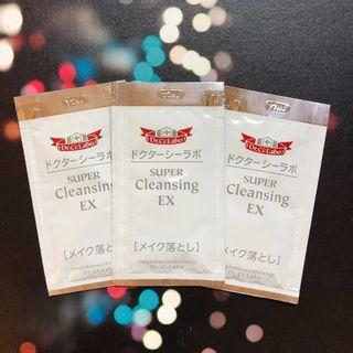 HK$3/ 包 (有3包) Dr.Ci:Labo 城野醫生 Super Cleansing EX 清透卸妝啫喱 Makeup remover 試用裝 sample