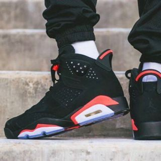 new product e11dc 40e36 Air Jordan 6 Black Infrared
