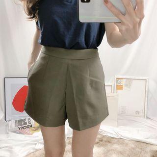 🌸春款上新🌸正韓 版型挺挺的西裝料短褲 預購