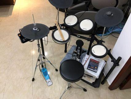 Yamaha Drumset DTX-502 For Sale