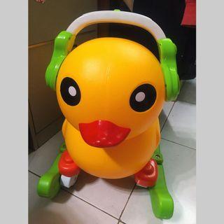 黃色小鴨學步車