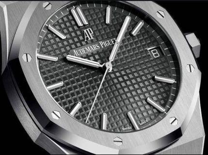 Royal Oak 15500ST (New) Grey