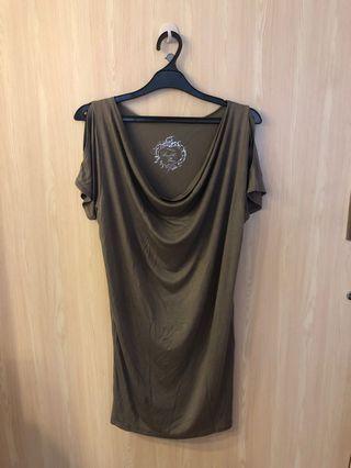 Grey loose dress