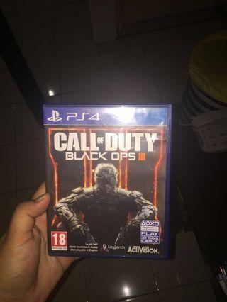 Jual call of duty bo3 PS4