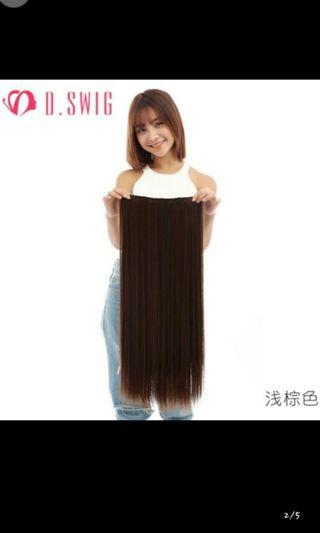 (NO INSTOCKS!)Preorder 5 clip straight clip on hair extension*waiting time 15 days after payment is made*chat to buy to order