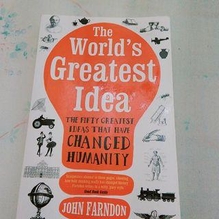 英文書 The world's greatest idea
