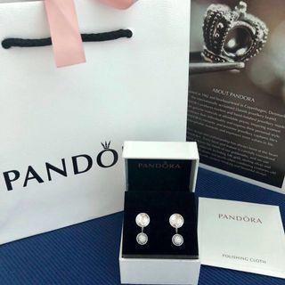 PANDORA Earring Dazzling Poetic Droplets