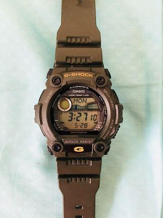 G Shock Watch (Military Green)