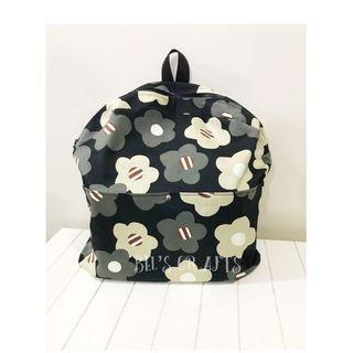 Handmade floral backpack