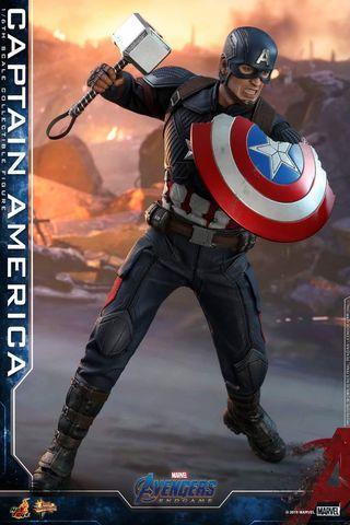 Hot Toys MMS536 Avengers Endgame Captain America