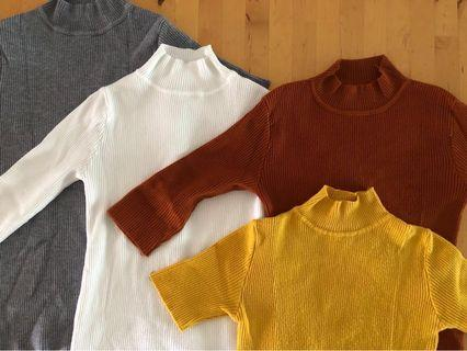 Turtle Neck Top @ $40.00 for 4pcs