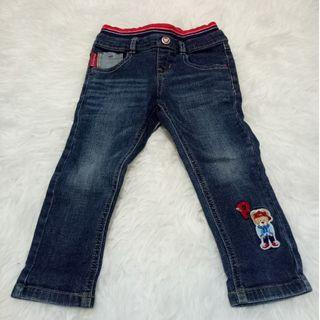 Jeans Paw Paw size 100 usia 2-3 th