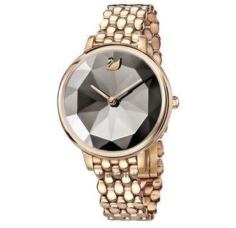 Swarovski Ladies Crystal Lake Rose Gold Watch 5416023
