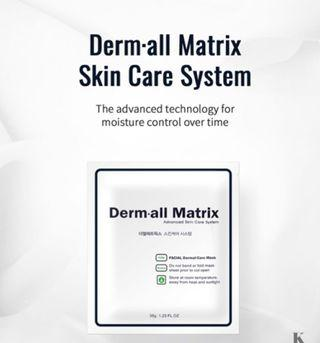 🚚 Derm-All Matrix Mask