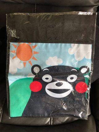 日本熊本熊手挽環保袋 Kumamon 正版