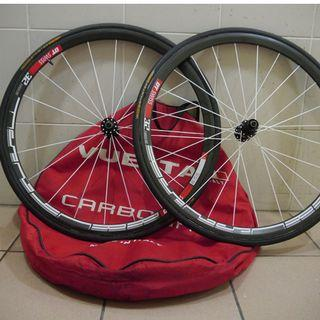 DT Swiss RRC 32 Dicut Tubular Wheelset Shimano 11s with sprinter tyres