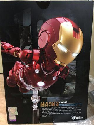 Ironman EA-040 Mark 3 磁浮公仔