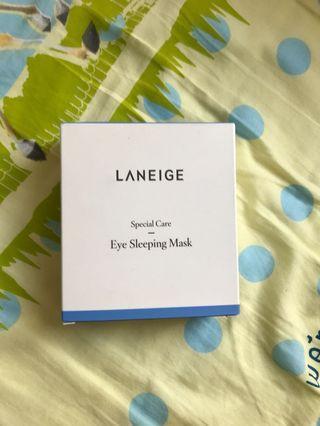 全新 Laneige eye Sleeping Mask