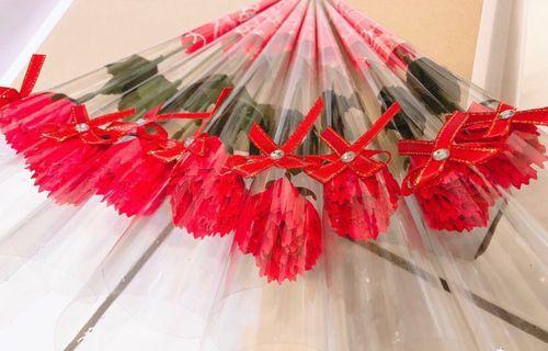當天出貨 母親節 康乃馨 🔥香皂花 35-38公分(大)水鑚 紅色 粉色 彰化市面交