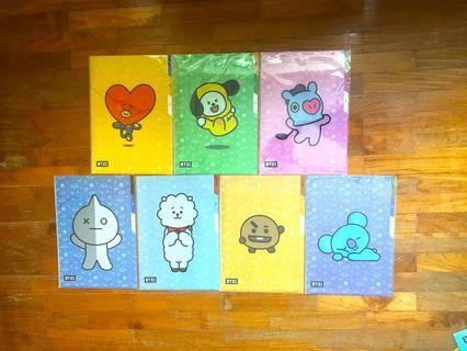 <INSTOCK> BT21 Monopoly 3- Compartment File/Folder