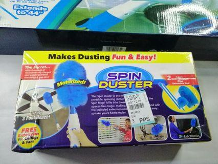 COMPLETE SET HURRICANE SPIN SCRUBBER & SPIN DUSTER