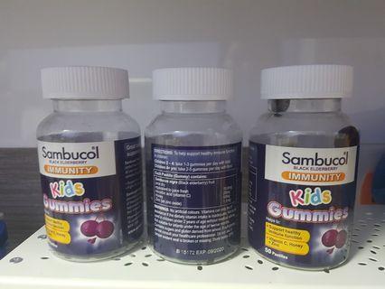 🚚 Sambucol kids gummies