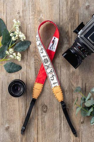 Missbao手創坊 - 布農族象形文字三用背帶 - 相機手機包包皆可