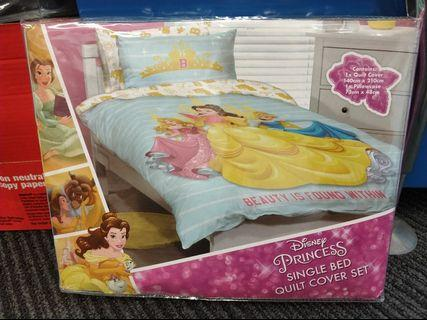 Brand new Princess Single Bed Quilt Cover Set