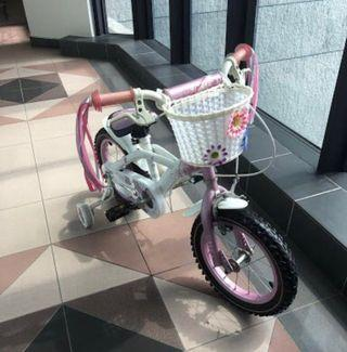 Pink Kids Bicycle (under utilized)