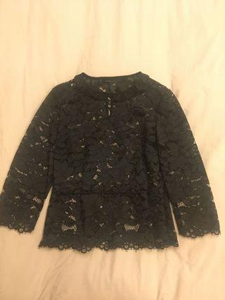Marc by Marc Jacobs new lace top