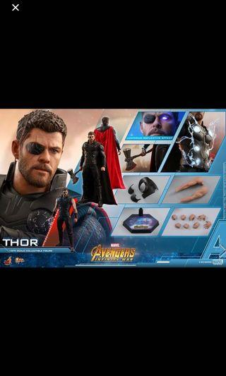 Po Hot toys Thor Infinity Wars