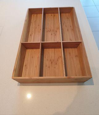 Bamboo Kitchen drawer Organiser