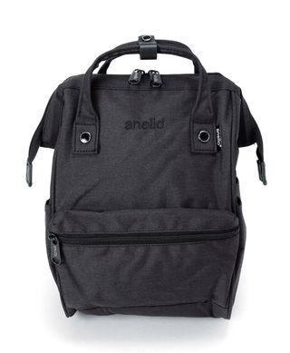 Anello heat-regulation polyester mouthpiece backpack - Black