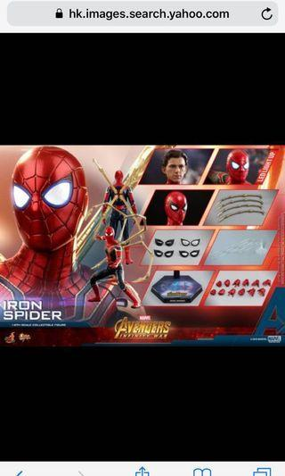 徴 hottoys ironspider 現貨 2300