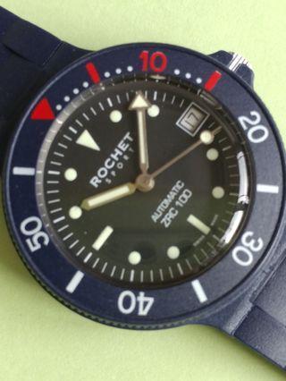 瑞士制100M 自動運動錶