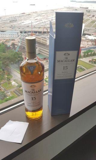 (1) Macallan 15 years
