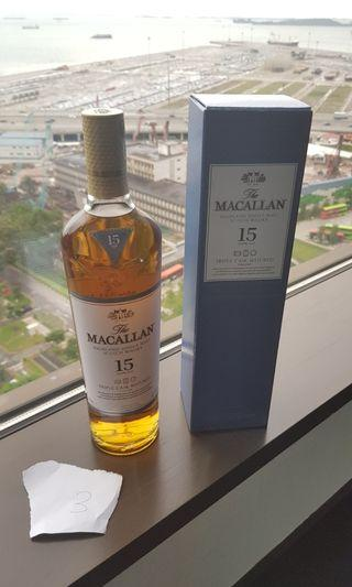 (3) Macallan 15 Years old