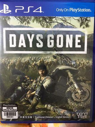 PS4 Day Gone (冇code)