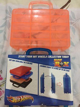 Hot Wheels Carry Case Hot Box Display Series x2