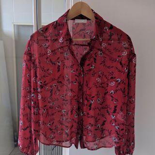Kookai shirt size 34