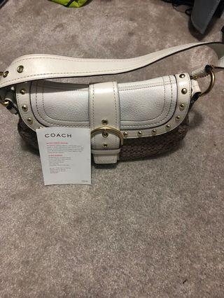 Authentic Coach Bag - Brand New