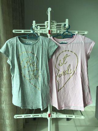 H&M best friend twin tshirt