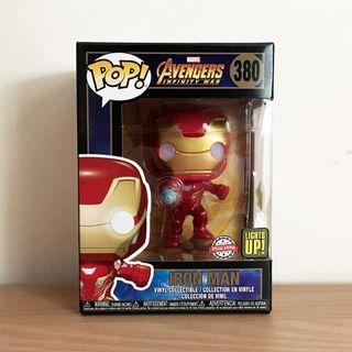 Funko Pop Iron Man Lights Up! Special Edition